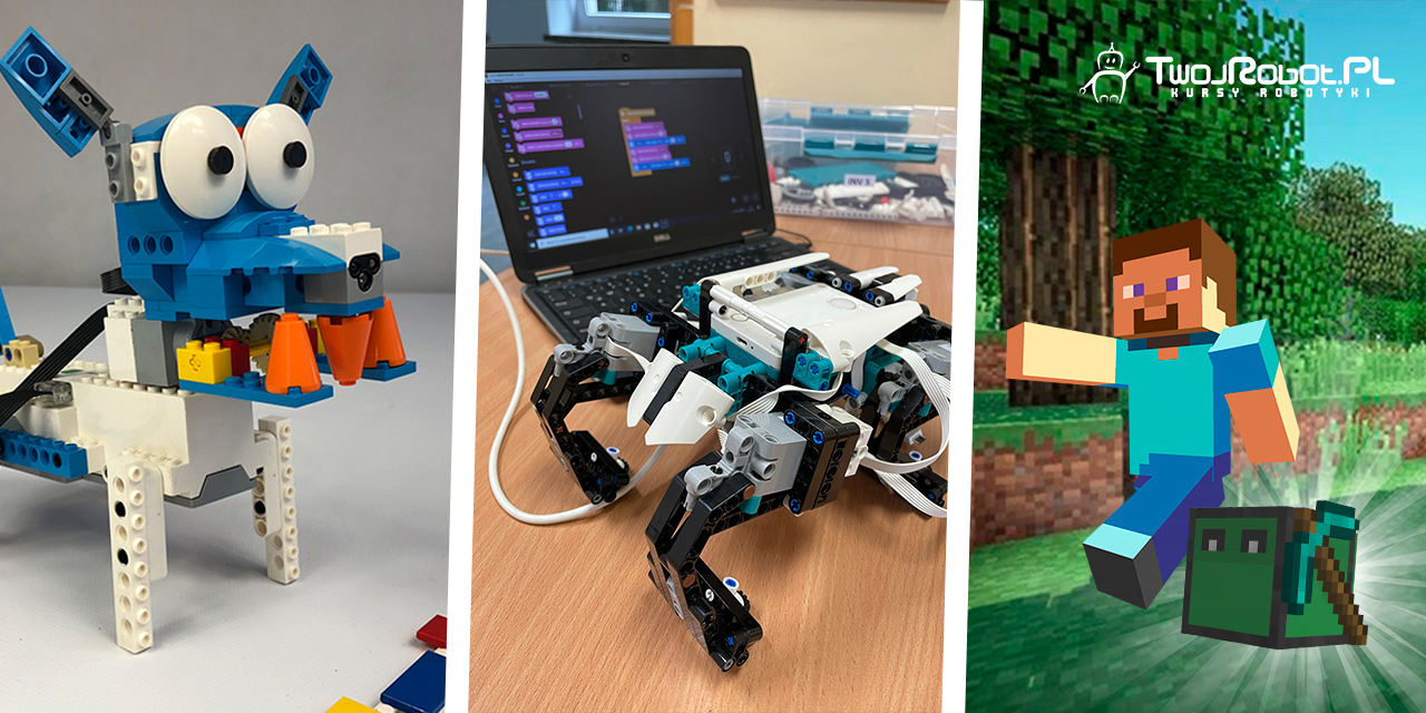 Kursy roczne: robotyka, programowanie, Minecraft